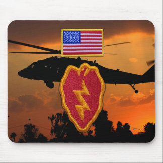Army 25th infantry division veterans vets LRRPS Mouse Pad