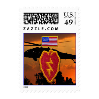 Army 25th infantry veterans vets postage