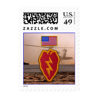 Army 25th infantry veterans vets postage stamps
