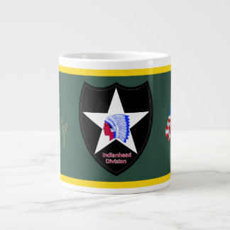 Army 2nd Infantry Division Giant Coffee Mug