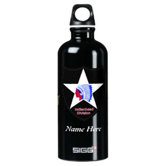 Army 2nd Infantry Division Water Bottle