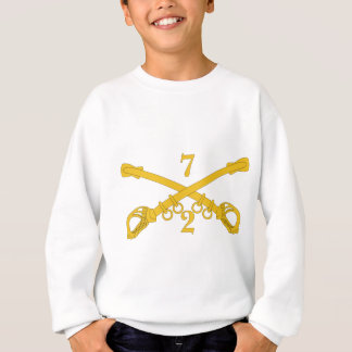 Army 2nd Troop 7th Cavalry Regiment Sweatshirt