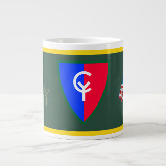 Army 38th Infantry Division Large Coffee Mug