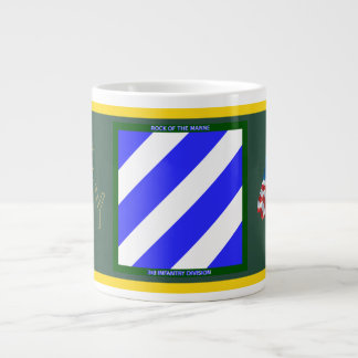 Army 3rd Infantry Division Large Coffee Mug