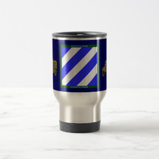 Army 3rd Infantry Division Travel Mug