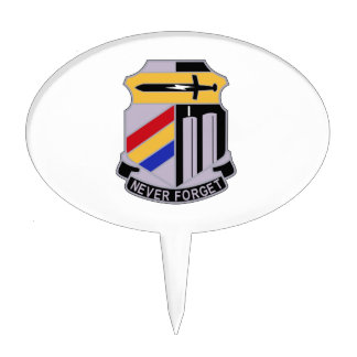 ARMY 42nd Infantry Division Special Troop Battalio Cake Pick