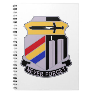ARMY 42nd Infantry Division Special Troop Battalio Notebook