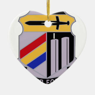 ARMY 42nd Infantry Division Special Troop Battalio Christmas Tree Ornaments