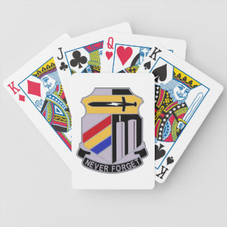 ARMY 42nd Infantry Division Special Troop Battalio Poker Cards