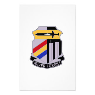 ARMY 42nd Infantry Division Special Troop Battalio Stationery Design
