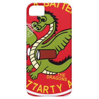 ARMY 4th Battalion 77th Artillery A Battery Aerial iPhone 5 Covers