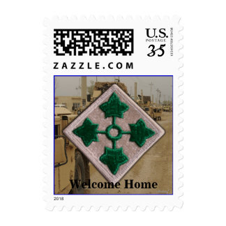 Army 4th infantry division vietnam nam vets postage