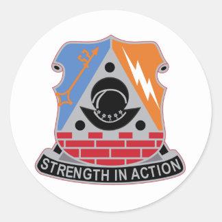 Army 53rd Infantry Brigade Combat Team Classic Round Sticker