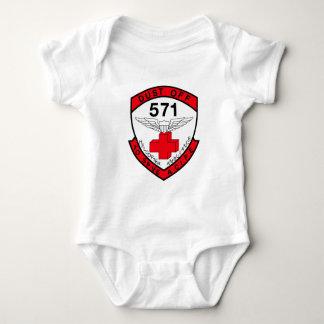 ARMY 571st Aviation Medical Company Air Ambulance Baby Bodysuit