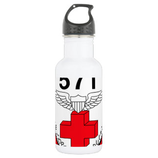 ARMY 571st Aviation Medical Company Air Ambulance Stainless Steel Water Bottle