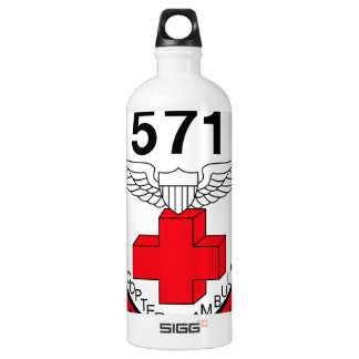 ARMY 571st Aviation Medical Company Air Ambulance Water Bottle