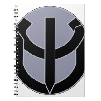 ARMY 5th Psychological Airborne Operations Battali Notebook