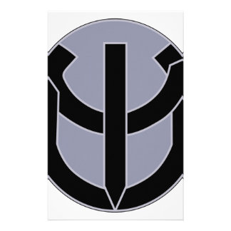 ARMY 5th Psychological Airborne Operations Battali Personalized Stationery