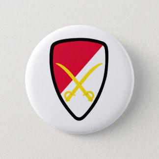 Army 6th Cavalry Brigade Patch Button