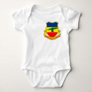 Army 73rd Cavalry Unit Crest Patch Baby Bodysuit