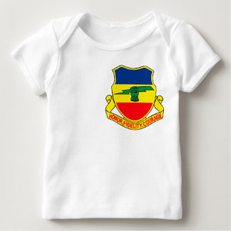 Army 73rd Cavalry Unit Crest Patch Baby T-Shirt
