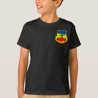 Army 73rd Cavalry Unit Crest Patch T-Shirt