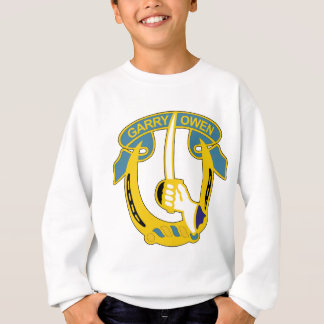Army 7th Armored Cavalry Insignia - Garry Owen Sweatshirt