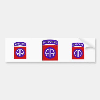Army 82nd Airborne Bumper Stickers