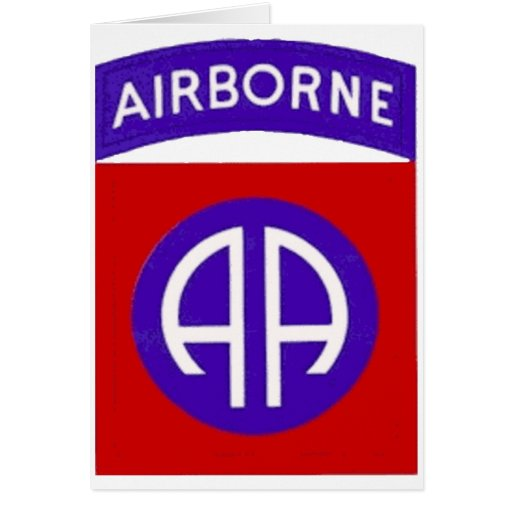 Army 82nd Airborne Cards