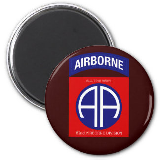 Army 82nd Airborne Division Magnet