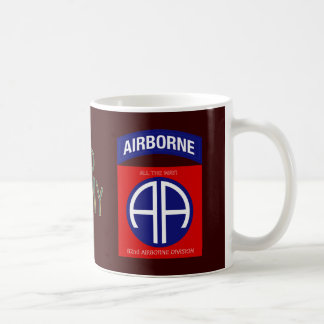 Army 82nd Airborne Division Classic White Coffee Mug