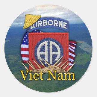army 82nd airborne division veterans vietnam stick sticker