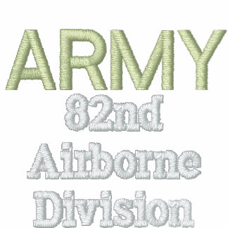 ARMY 82nd Airborne Embroidered JACKET
