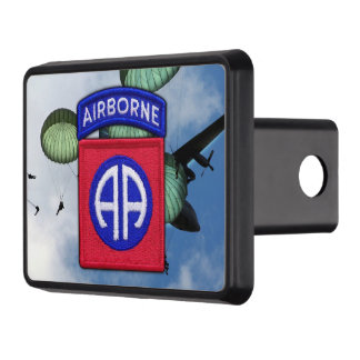 army 82nd airborne nam war veterans vets trailer hitch cover