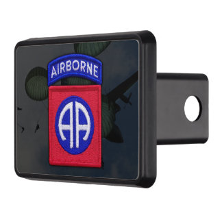 army 82nd airborne nam war veterans vets tow hitch covers