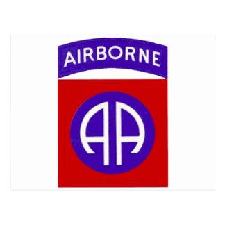 Army 82nd Airborne Postcard