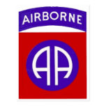 Army 82nd Airborne Postcards