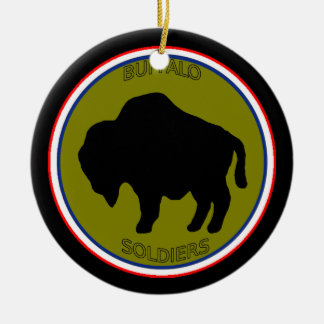 Army 92nd Infantry Division Ceramic Ornament