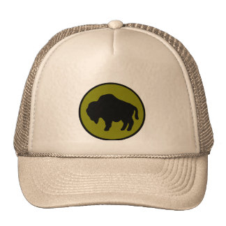 Army 92nd Infantry Division Trucker Hats