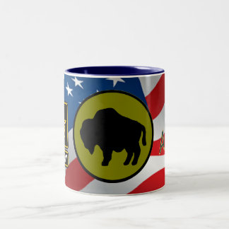 Army 92nd Infantry Division Two-Tone Coffee Mug