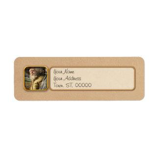 Army - A seasoned vet Label