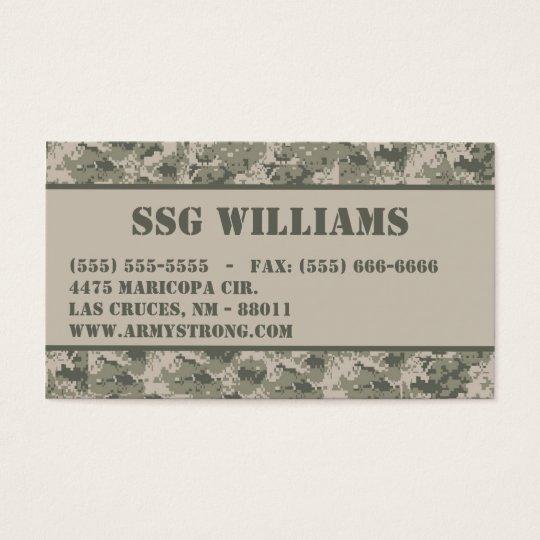 Army acu camoflauge digital camo business card zazzle army acu camoflauge digital camo business card colourmoves