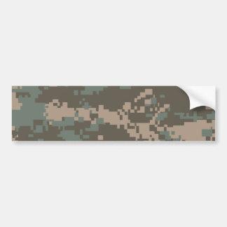 Army ACU Camouflage Bumper Sticker