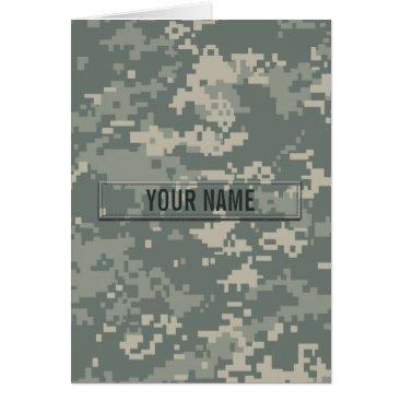 Army ACU Camouflage Customizable
