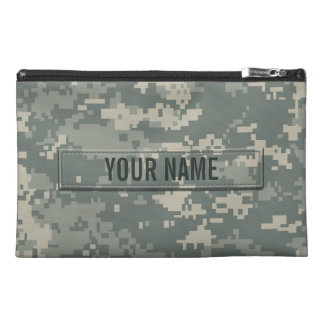 Army ACU Camouflage Customizable Travel Accessories Bags