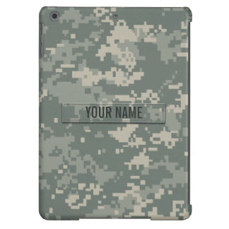 Army ACU Camouflage Customizable Case For iPad Air