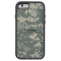 Army ACU Camouflage Customizable Tough Xtreme iPhone 6 Case