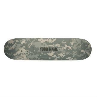 Army ACU Camouflage Customizable Custom Skateboard