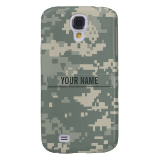 Army ACU Camouflage Customizable Galaxy S4 Cover