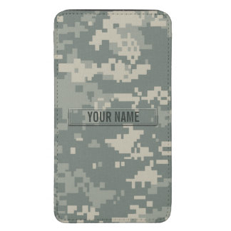 Army ACU Camouflage Customizable Galaxy S5 Pouch